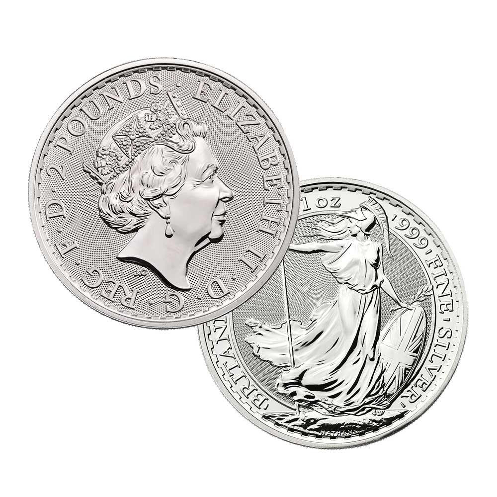 Silver Great Britain Coin