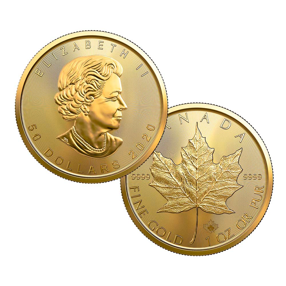 Gold CA Leaf Coin