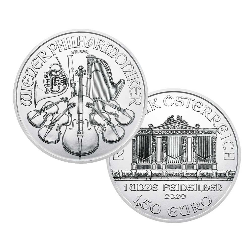 Silver AU Phil Coin